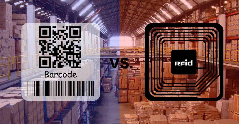 مقایسه rfid و بارکد