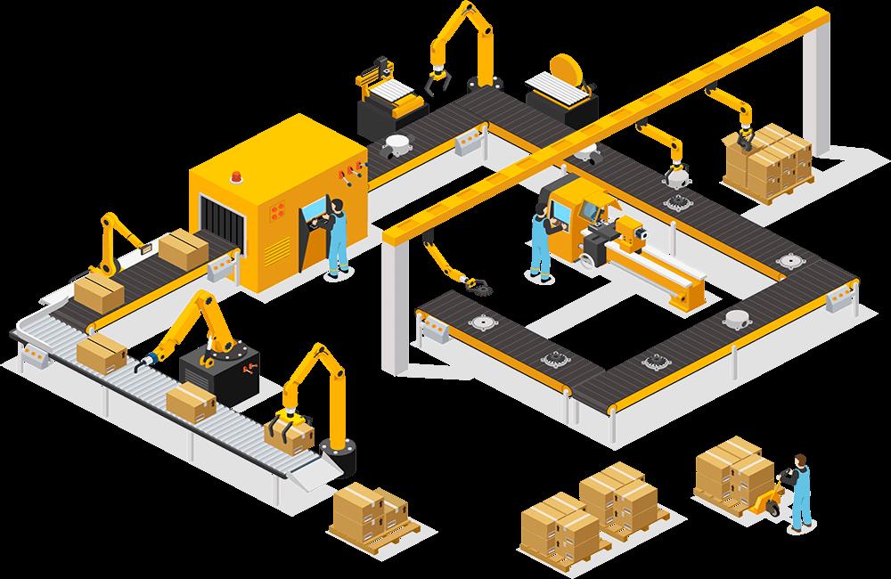 راهکار خط تولید هوشمند